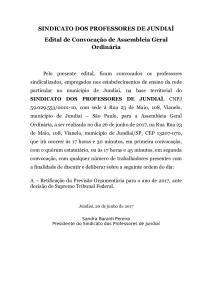 EDITAL PREVISÃO ORÇAMENTARIA 2017