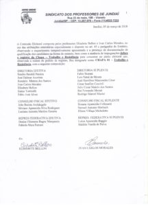 Registro deferido - Chapa 01